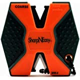 SharpNEasy 336C Two Step Knife Sharpener, Blaze Orange