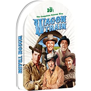 Wagon Train - The Complete Season Five - 37 episodes - 10 dvd embossed collectible tin