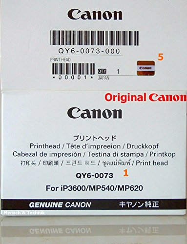 Original Canon Druckkopf für Canon Pixma MP540, MP550, MP560, MP620 mit 6 Monaten Garantie