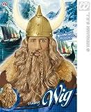 Brown Viking Wig & Beard Set Troy Troll Lord Of The Rings Dwarf Fancy Dress