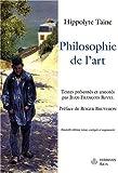 echange, troc Hippolyte Taine - Philosophie de l'art