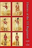 History of the XX Regiment 1688-1888 Lancashire Fusiliers Lieut Quartermaster B. Smyth