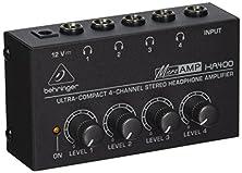 buy Behringer Ha400 4-Channel Stereo Headphone Amplifier