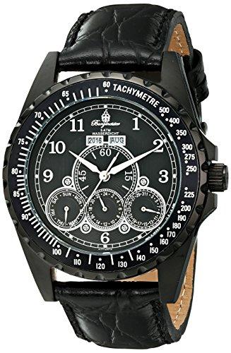 Burgmeister BM302a-622 - Reloj de pulsera hombre, piel, color negro