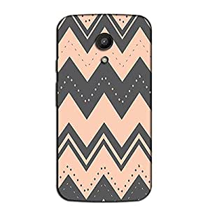 AZTEC PEACH BACK COVER FOR MOTOROLA MOTO G2