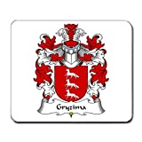 Gryzima Family Crest Coat of Arms Mouse Pad