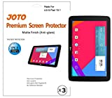 LG G Pad 10.1 Screen Protector - JOTO Anti Glare, Anti Fingerprint (Matte Finish) version Screen Protector Film Guard for 2014 LG G Pad 10 inch Tablet, with Lifetime Replacement Warranty (3 Pack)