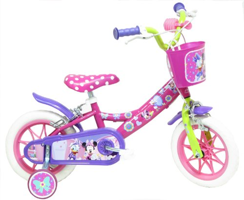 "Bicicletta ufficiale 12"" Disney Minnie Mouse Clubhouse"