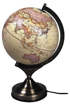 地球儀 (金属台座)