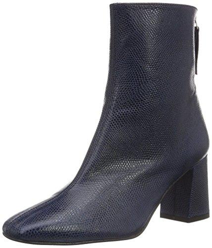 Paco GilP3085 - Stivali a metà polpaccio con imbottitura leggera Donna , Blu (Blau (Bali)), 38 EU