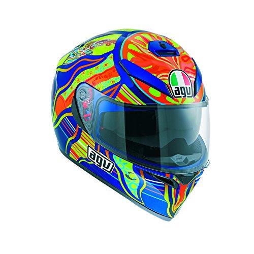 AGV J0301A0F0002L Casco K-3 SV E2205 Top, Multicolore, Misura 9