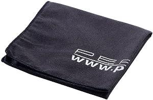 PEARL Extra saugfähiges Mikrofaser-Handtuch 80 x 40 cm, schwarz