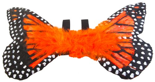 Orange Toddler Monarch Butterfly Costume Wings image