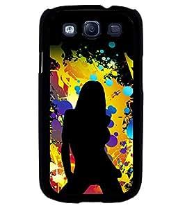 printtech Hot Girl Pattern Back Case Cover for Samsung Galaxy S3 Neo::Samsung Galaxy S3 Neo i9300i