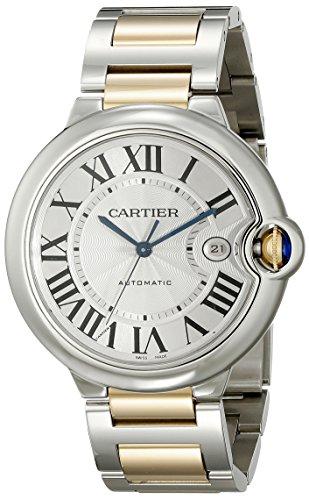 Cartier W69009Z3 - Orologio da polso da uomo colore argento