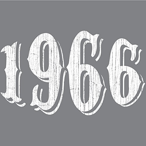 50th Birthday Vintage, Over the Hill for Men, Fiftieth Birthday Him, Gray, XL
