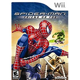 51nwTn2JVmL. SL500 AA280  Spiderman: Friend or Foe Nintendo Wii Video Game   $15