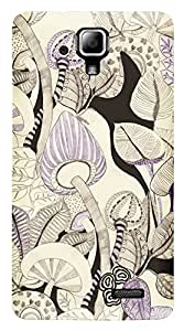 TrilMil Printed Designer Mobile Case Back Cover For Lenovo A536