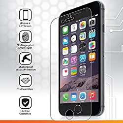 iGotTech iPhone 6 and 6s Tempered Glass Screen Protector (4.7 Inch ONLY), Edge to Edge Ballistic Glass, Cell Phone Touchscreen Accuracy