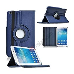 ForSamsung Galaxy Tab3 8.0 Inch Rotate Case Rotating Cover T310,T311,P8200 Tab 3 8