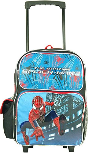 "Marvel the Amazing Spiderman Large 16"" Rolling Backpack"