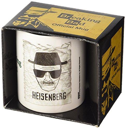 "Breaking Bad - Tazza in ceramica, 1 pezzo, ""Heisenberg Wanted"""