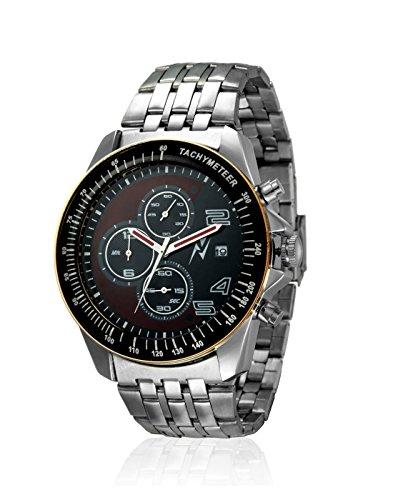 Yepme Men's Chronograph Watch – Brown/Silver