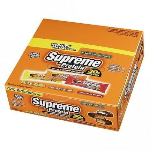 Supreme Protein Supreme Protein Bar - Carb Conscious 12 bars