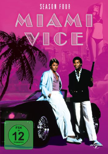 Miami Vice - Season 4 [6 DVDs]