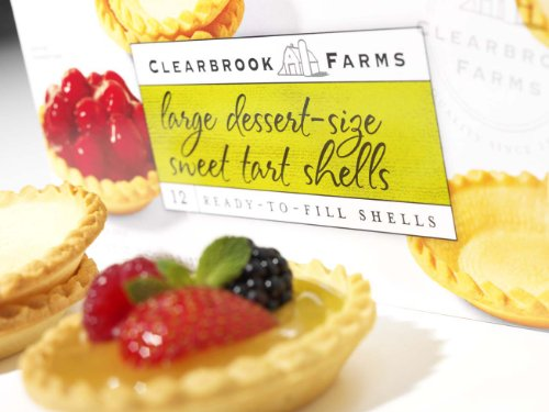 Clearbrook Farms Large Desert Size Sweet Tart Shells (3.15