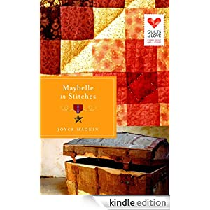 http://www.amazon.com/Maybelle-Stitches-Quilts-Joyce-Magnin-ebook/dp/B00IBJP64C/ref=sr_1_1?s=digital-text&ie=UTF8&qid=1392591670&sr=1-1&keywords=maybelle+in+stitches+by+joyce+magnin