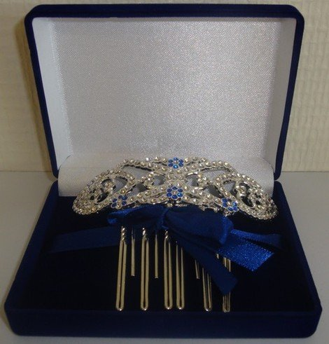 51nwgki5w6L Twilight Breaking Dawn Bellas Hair Comb in Velvet Box