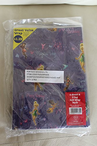 disney-fairy-tinker-bell-gift-wrap-and-gift-tag-set