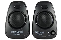 5 Core MMS-05 USB powered multimedia speaker for computers, mobile phones, laptops with 3.5mm jack, high quality speaker with soundbass powered with 2 W X 2 RMS speakers