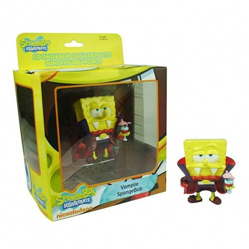 Spongebob Squarepants Mini Figure World - Vampire Spongebob - 1