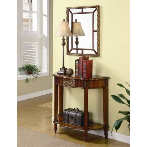 Cheap Coaster Furniture 900155 3 Pieces Traditional Console Table Set in Brown 900155 (B008A1IG84)