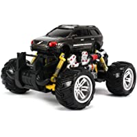 Volvo Xc Station Wagon Electric Rc Off Road Monster Truck 1:18 Scale 4 Wheel Drive Rtr, Working Hinged Spring...
