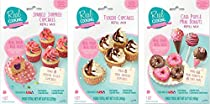 Real Cooking Refill 3-Pack - Tuxedo Cupcakes, Sprinkle Surprise Cupcakes & Mini Donuts/Cake Pops