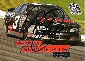 1999 Press Pass GM Goodwrench Service Dale Earnhardt Sr Signed Auto Trading Card -... by Sports Memorabilia