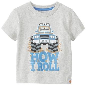 Amazon Carhartt Baby Boys Infant How I Roll T Shirt
