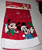 Disney Mickey & Minnie Mouse Christmas Tree Skirt 48 Inches