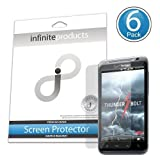Infinite Products Quasar Screen Protectors for HTC ThunderBolt (6 Pack) DIAMOND ~ Infinite Products