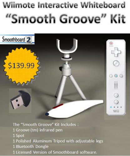 "Wii Remote Interactive Whiteboard - ""Smooth Groove"" Kit"