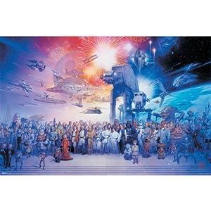 Trends International Unframed Poster Prints, Star Wars Galaxy