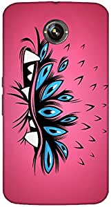 Timpax protective Armor Hard Bumper Back Case Cover. Multicolor printed on 3 Dimensional case with latest & finest graphic design art. Compatible with Google Nexus-6 Design No : TDZ-28695