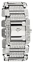 Dolce Gabbana Royal Ladies D&G Watch DW0219 Crystals Set Case and Bracelet