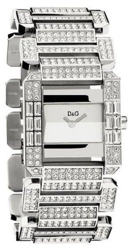 D & G DW0219 Royal Ladies Crystal Bracelet Watch