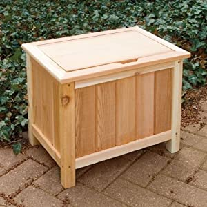 Cedar Creek 1219l Small Outdoor Storage Boxes With Liner