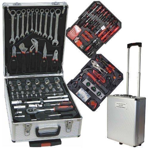 187-TLG-Werkzeugkoffer-Werkzeugkiste-im-Alukoffer-mit-Trolleyfunktion-Chrom-Vanadium-mit-Ratschenschlssel