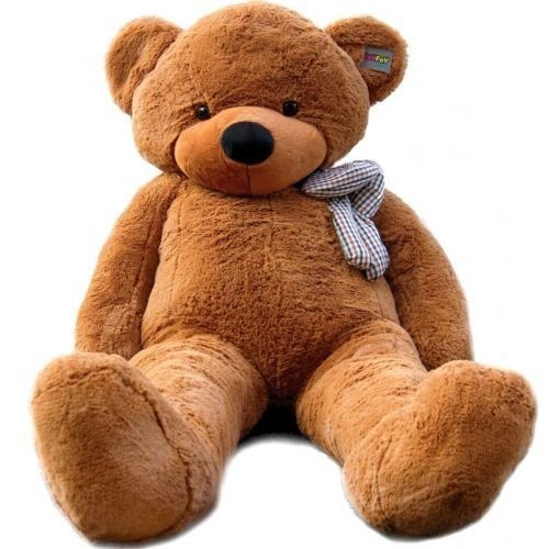Joyfay-78-200cm-Dark-Brown-Giant-Teddy-Bear-Stuffed-Plush-Toy-Valentine-Gift